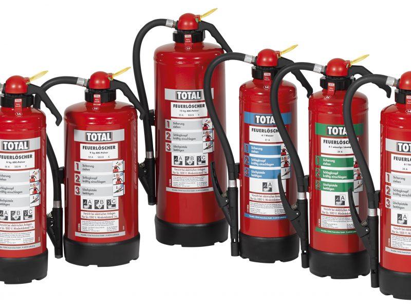 Tragbare Feuerlöscher